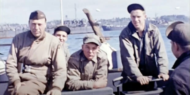 COLORIZED D-DAY FOOTAGE