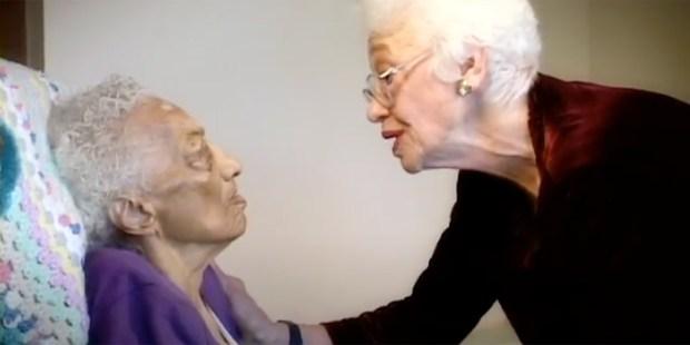 Gladys Wilson and Naomi Feil