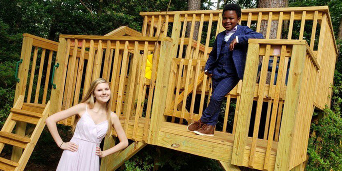 CURTIS RODGERS AND RACHEL CHAPMAN PROM