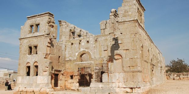 """(slideshow) These are the """"forgotten"""" churches located in Syria's """"Dead Cities"""""""