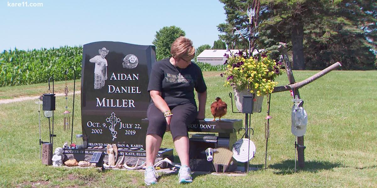 Aidan Miller, from Minnesota
