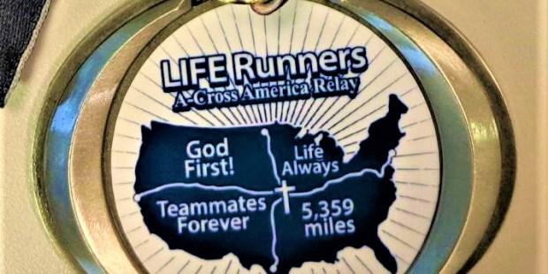 LIFE RUNNERS MEDAL