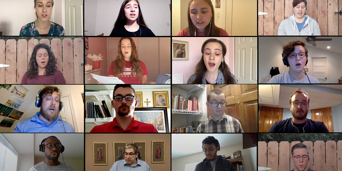 Brébeuf Virtual Choir