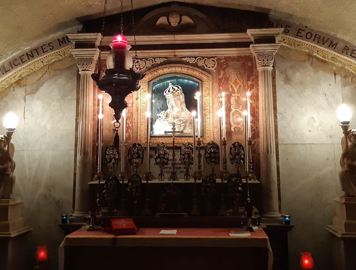 The Apparition of the Blessed Virgin and the Dominicans in Malta