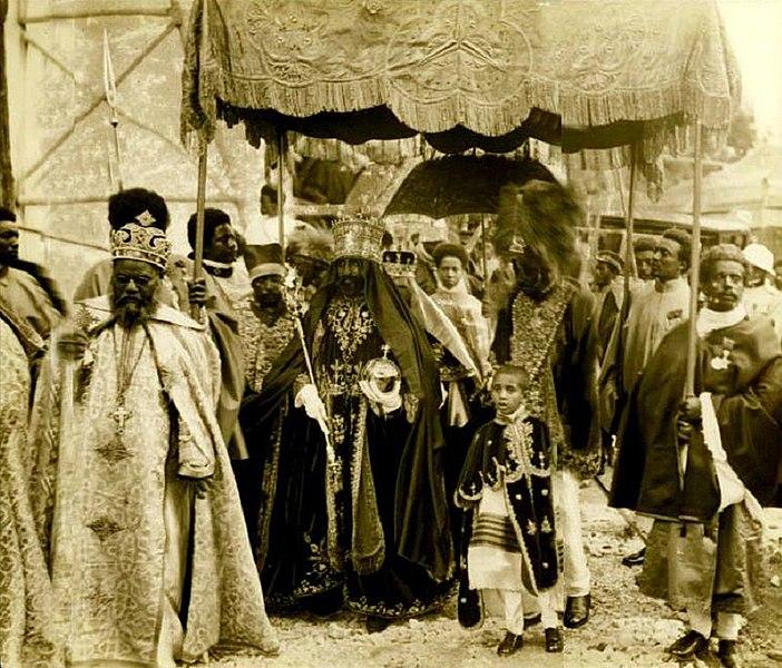 Haile Selassie; coronation