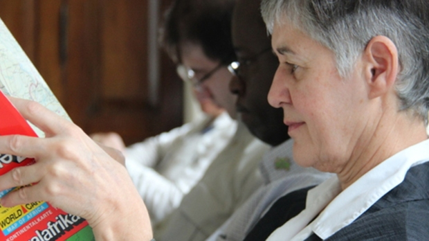 CHRISTINE DU COURDRAY; AID TO THE CHURCH IN NEED