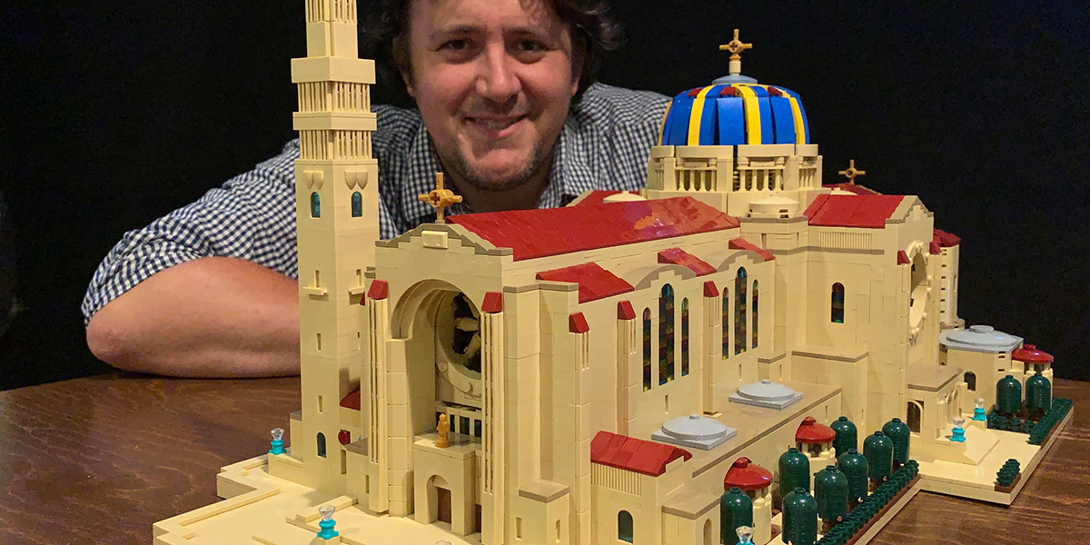 LEGO Basilica of the National Shrine of the Immaculate Conception