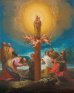 The apparition of Our Lady of the Pillar