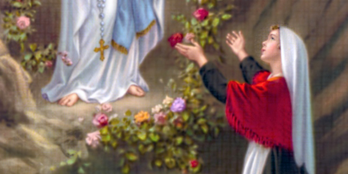 MARY APPEARING