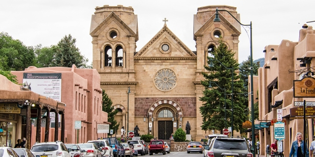Cathedral Basilica of St. Francis of Assisi in New Mexico