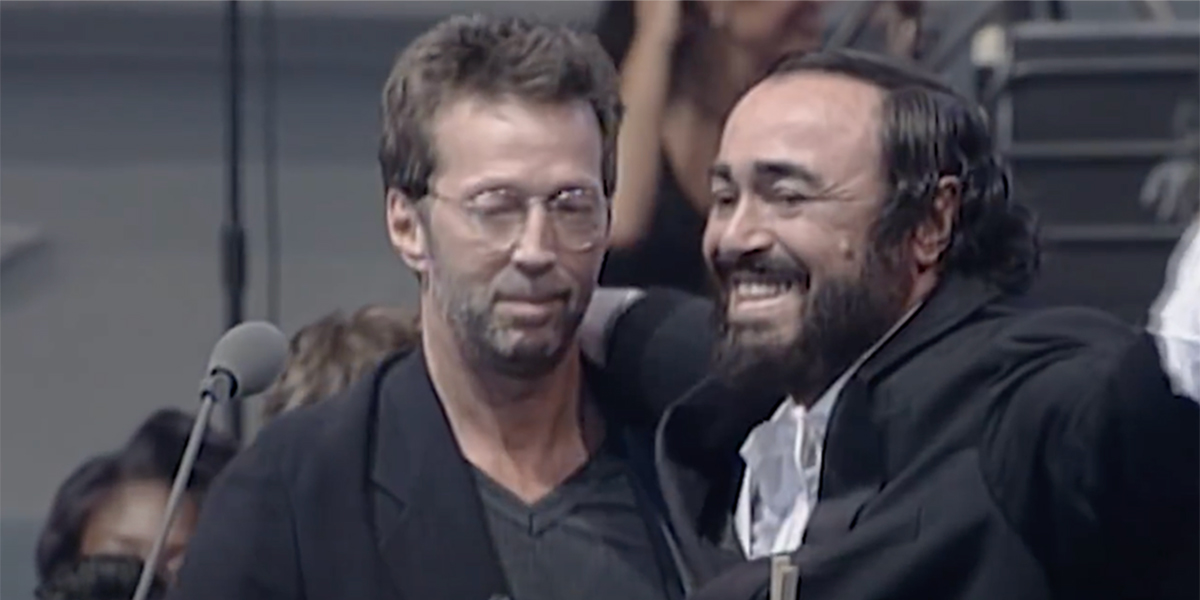 Eric Clapton, Luciano Pavarotti, East London Gospel Choir