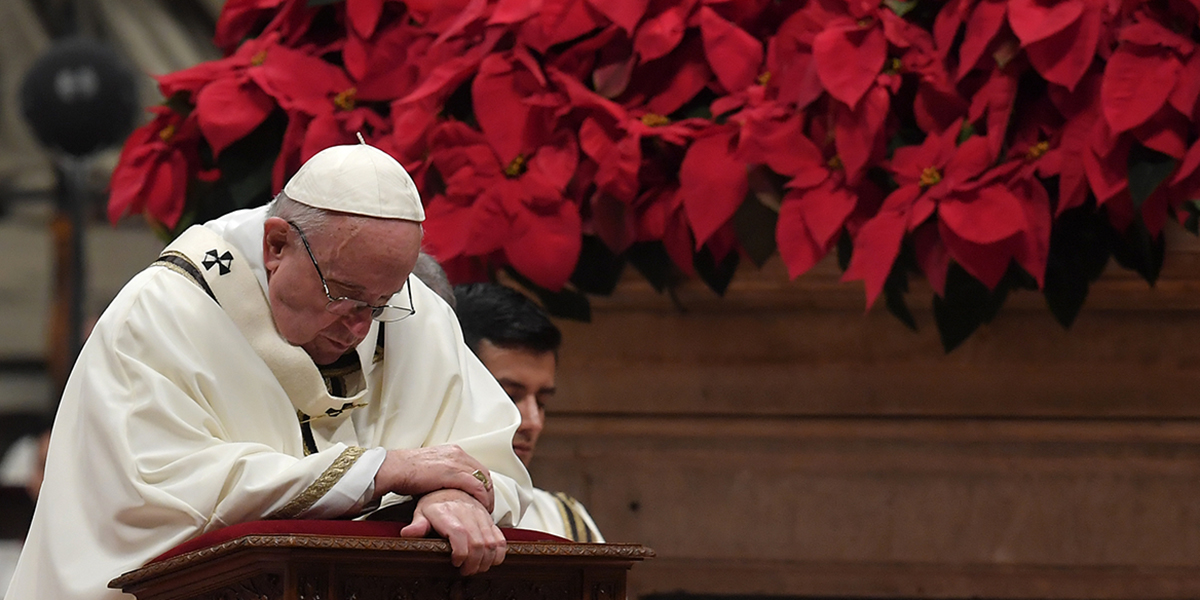Pope Vatican Midnight Mass Christmas 2021 Streaming Vatican Moves Advent And Christmas Masses Online
