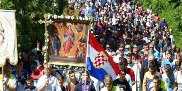 MARIAN PROCESSION; BOSNIA HERZEGOVENIA