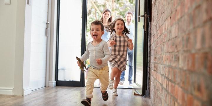 RUNNING, CHILDREN, HOME