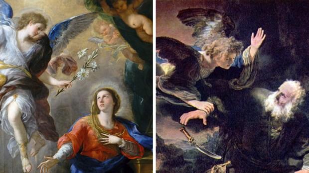 MARY AND ABRAHAM