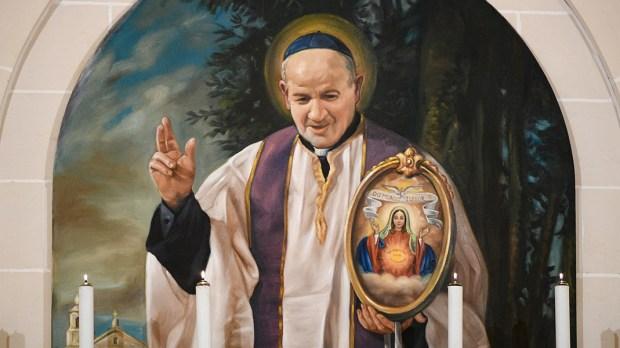 The Blessed Virgin Mary and San Ġorġ Preca