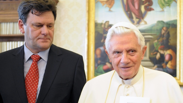 Peter Seewald AND POPE BENEDICT XVI
