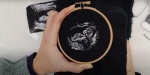 EMBROIDERED ULTRASOUND