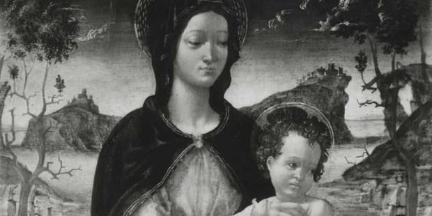 Madonna and Child by Cerchia di Michelangelo Buonarroti