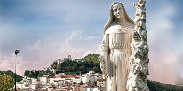 Traces of miracles remain at the birthplace of St. Rita of Cascia