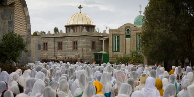 Aksum Ethiopia; CHURCH