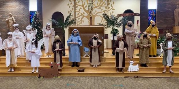 "St. Damian School's 5th Grade Presents ""The Nativity"" 2020"