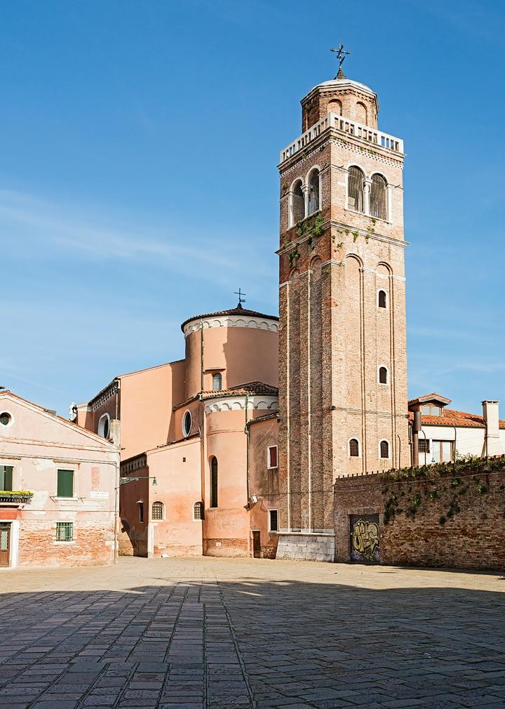 Church of San Sebastiano in Venice