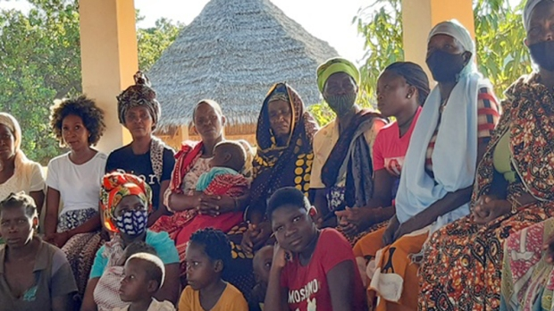 displaced people in the Diocese of Pemba
