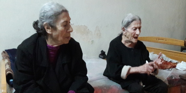 elderly residents of Damascus