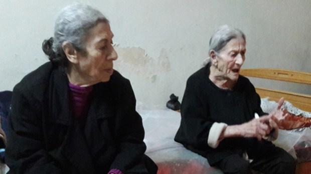 elderly residents of Damascus
