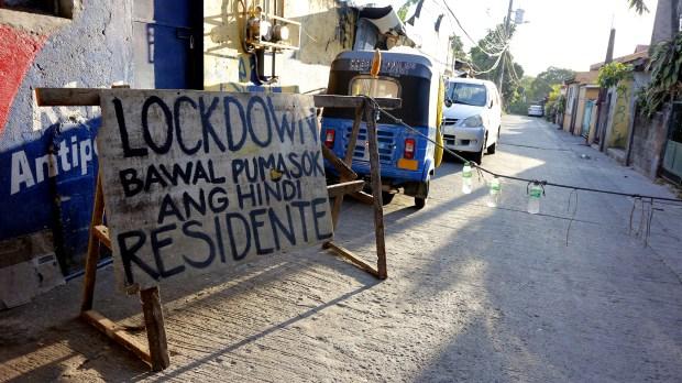 FILIPINO LOCKDOWN