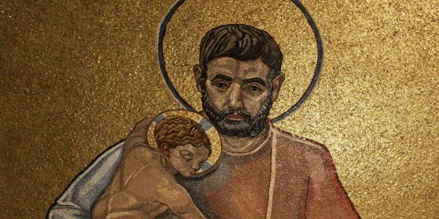 ST JOSEPH;MOSAIC; NATIONAL SHRINE
