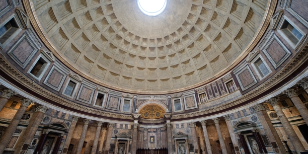 """(Slideshow) From """"all the gods"""" to """"all the martyrs"""": Virtually visit the Pantheon"""