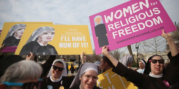 RELIGIOUS FREEDOM,NUNS