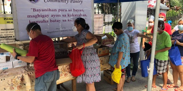 FOOD PANTRY;PHILIPPINES