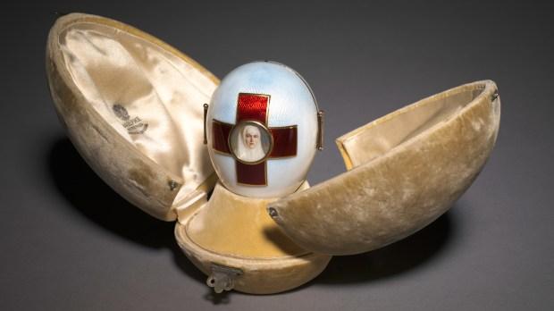 Imperial Red Cross Easter Egg