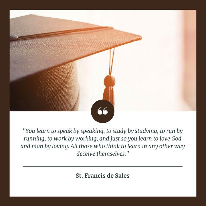 (Slideshow) 8 Catholic quotes perfect for today's graduates