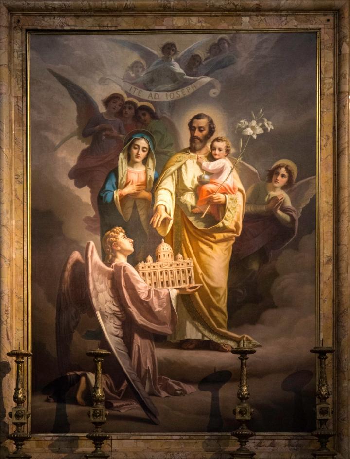 (Slideshow) The labors of St. Joseph