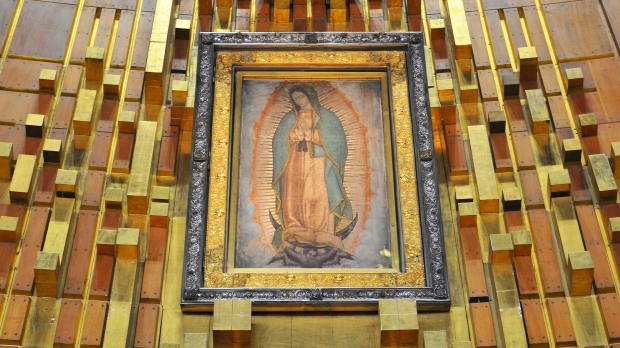 Our Lady of Guadalupe in Mexico