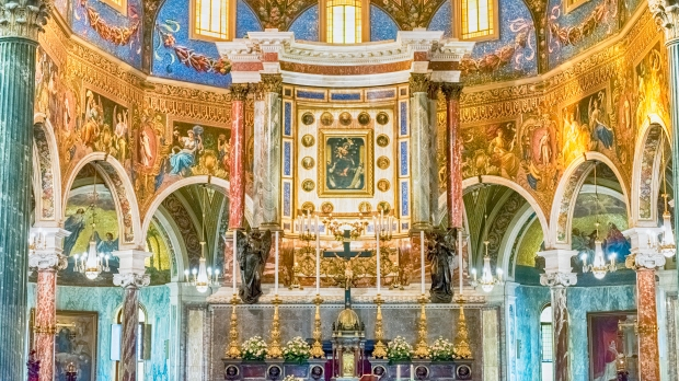 Shrine of Our Lady of the Rosary of Pompei, Italy