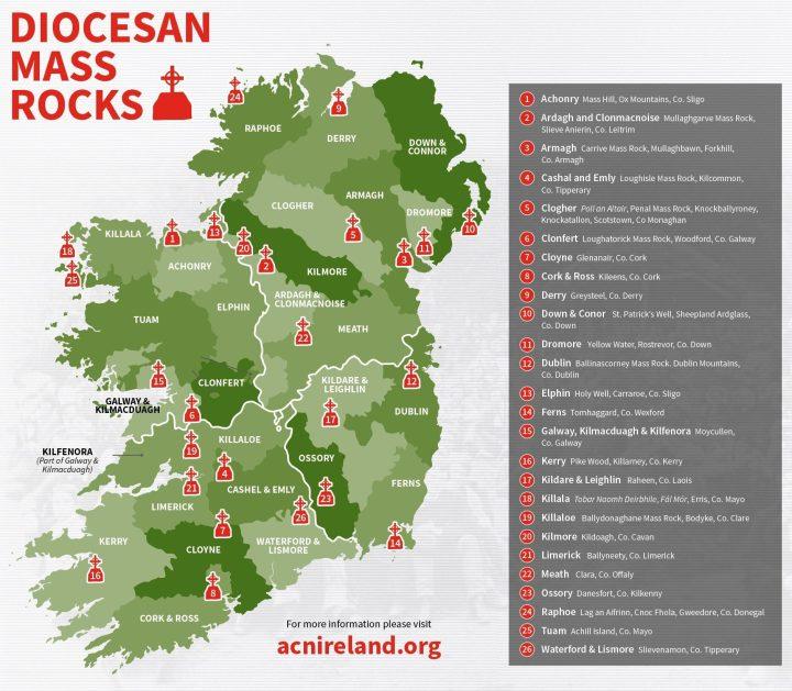 IRELAND MASS ROCKS