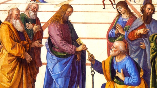 SAINT PETER AND JESUS
