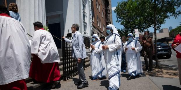 Revived Corpus Christi procession