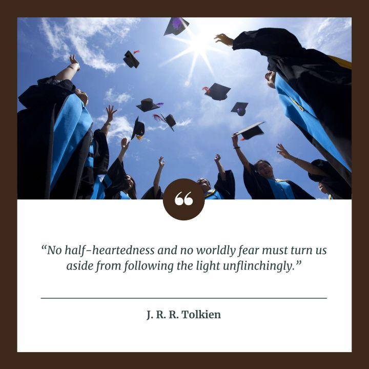 (Slideshow) 10 Essential J. R. R. Tolkien quotes for today's graduates