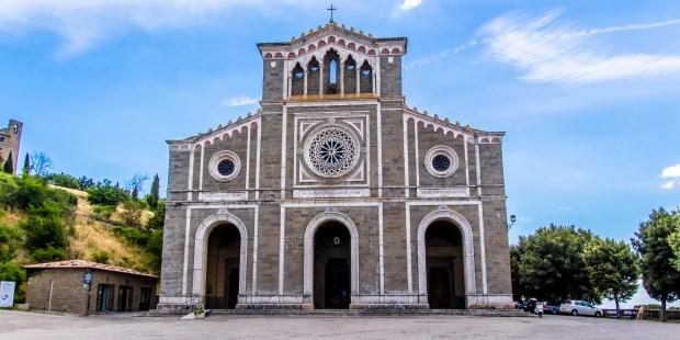 Church of Santa Margherita in Cortona
