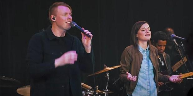Corey Voss and Sarah Kroger