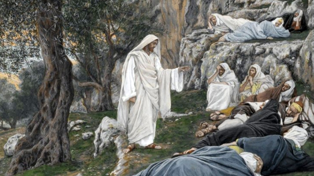 JESUS COMMANDS THE APOSTLES TO REST