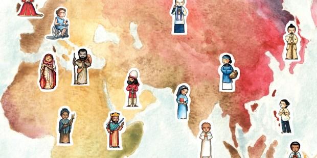 saints around the world