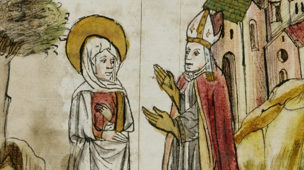 Wiborada with Solomon III