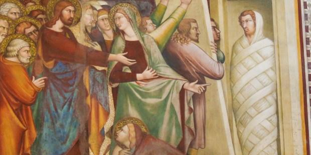 martha mary and lazarus